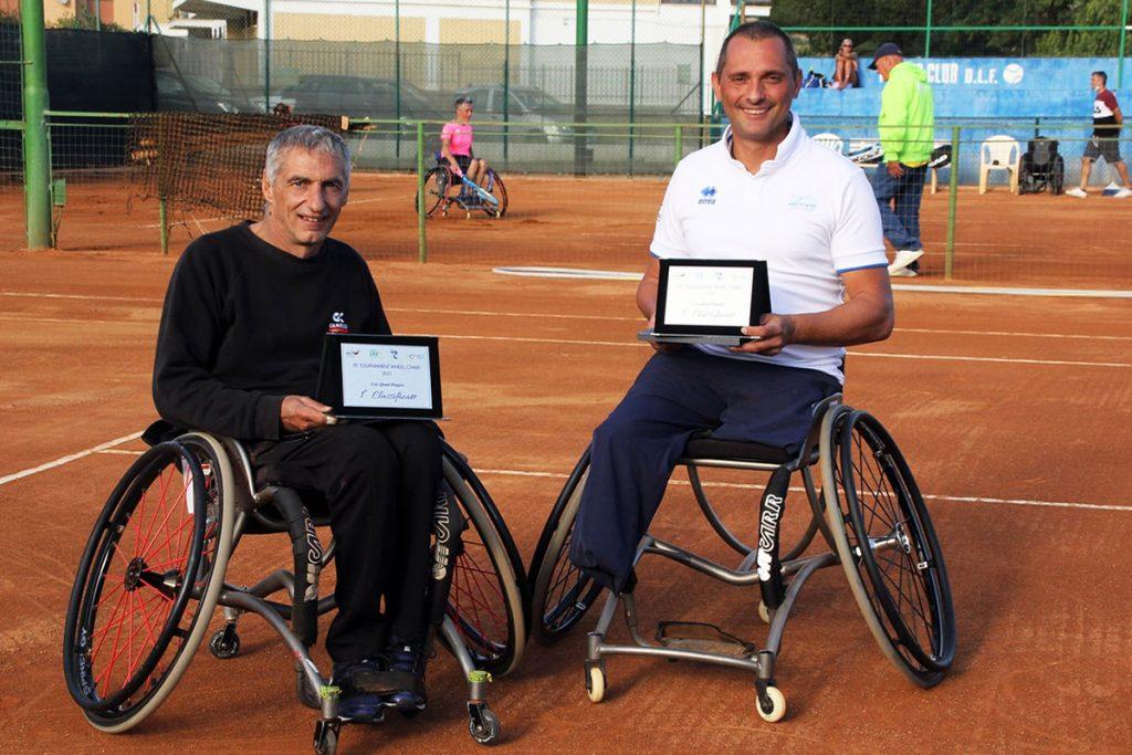 Alberto Saja (destra) e Ivano Boriva sono stati protagonisti di una grande stagione, chiusa con le vittorie nel torneo Itf di Civitavecchia